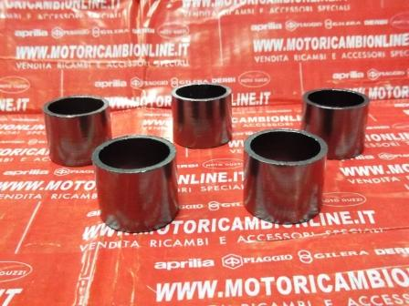 Kit 5 BOCCOLA IN GRAFITE per marmitta  826388 Original Piaggio Aprilia Derbi Gilera
