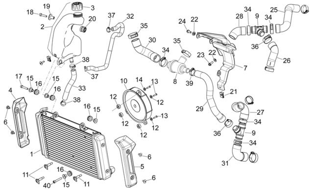 Schema Elettrico Beverly 500 : Motoricambionline cdkmotors tappo