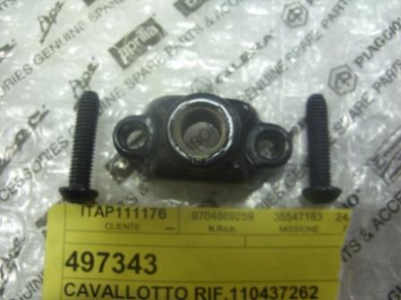 CAVALLOTTO BREMBO 110437262 SUPPORTO SPECCHIO POMPA FRENO PIAGGIO BEVERLY 300