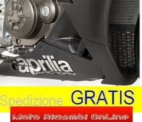 CARENA INFERIORE IN CARBONIO FACTORY APRILIA RSV-4 COD 895400